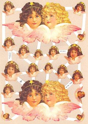 ef7193 angel faces scrap sheet